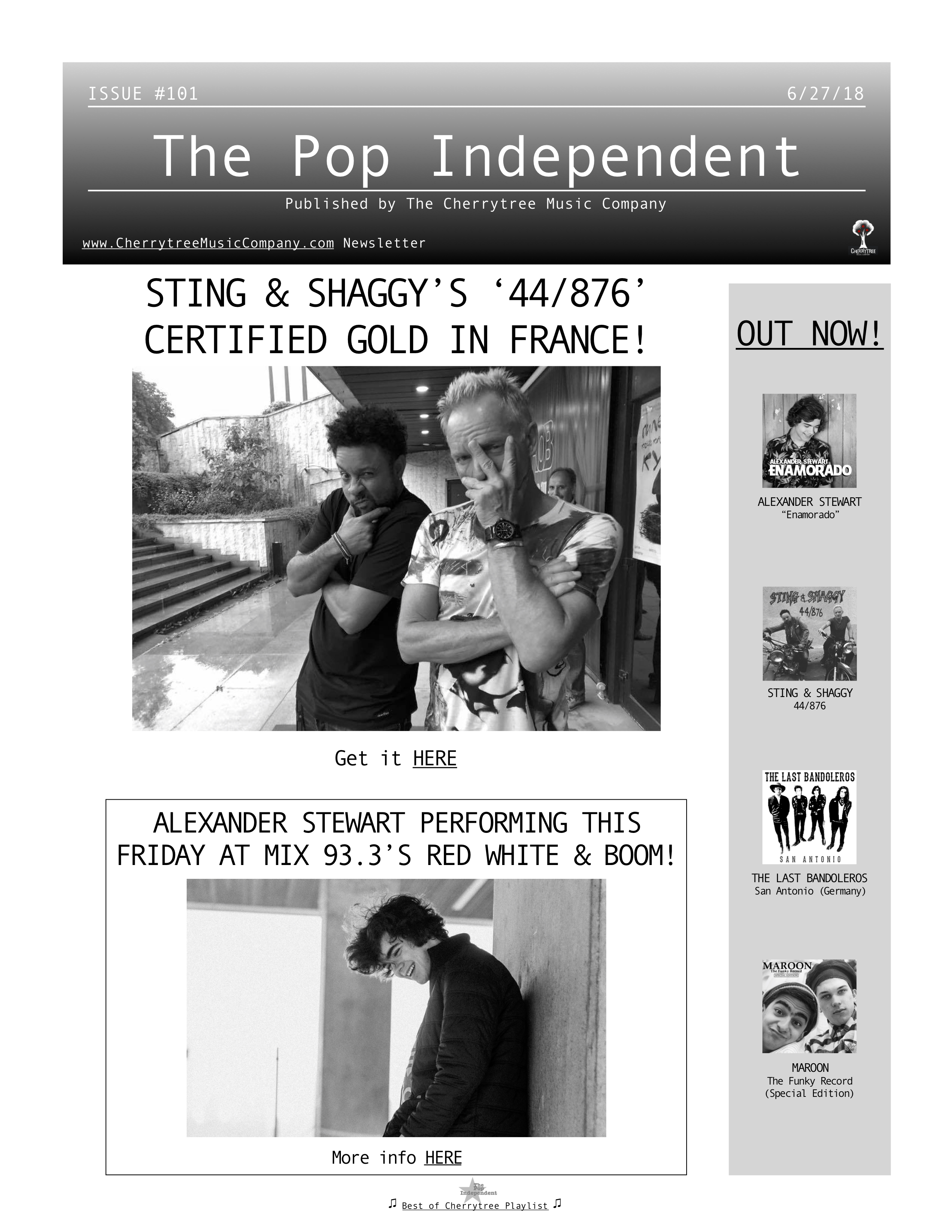 The Pop Independent, issue 101