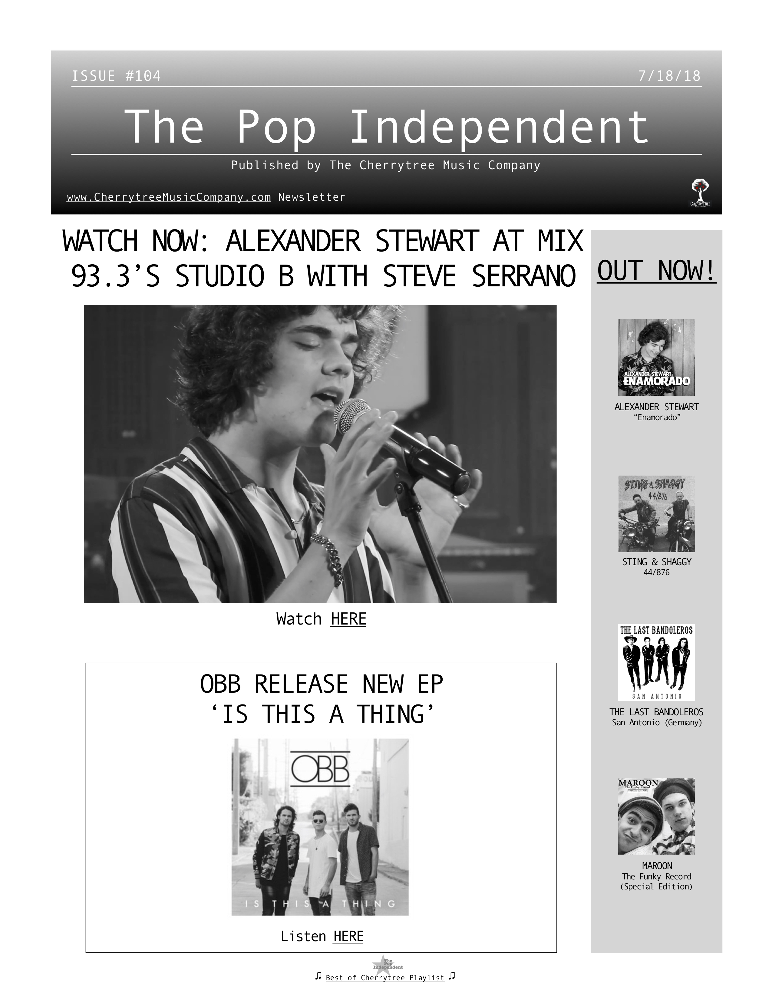 The Pop Independent, issue 104