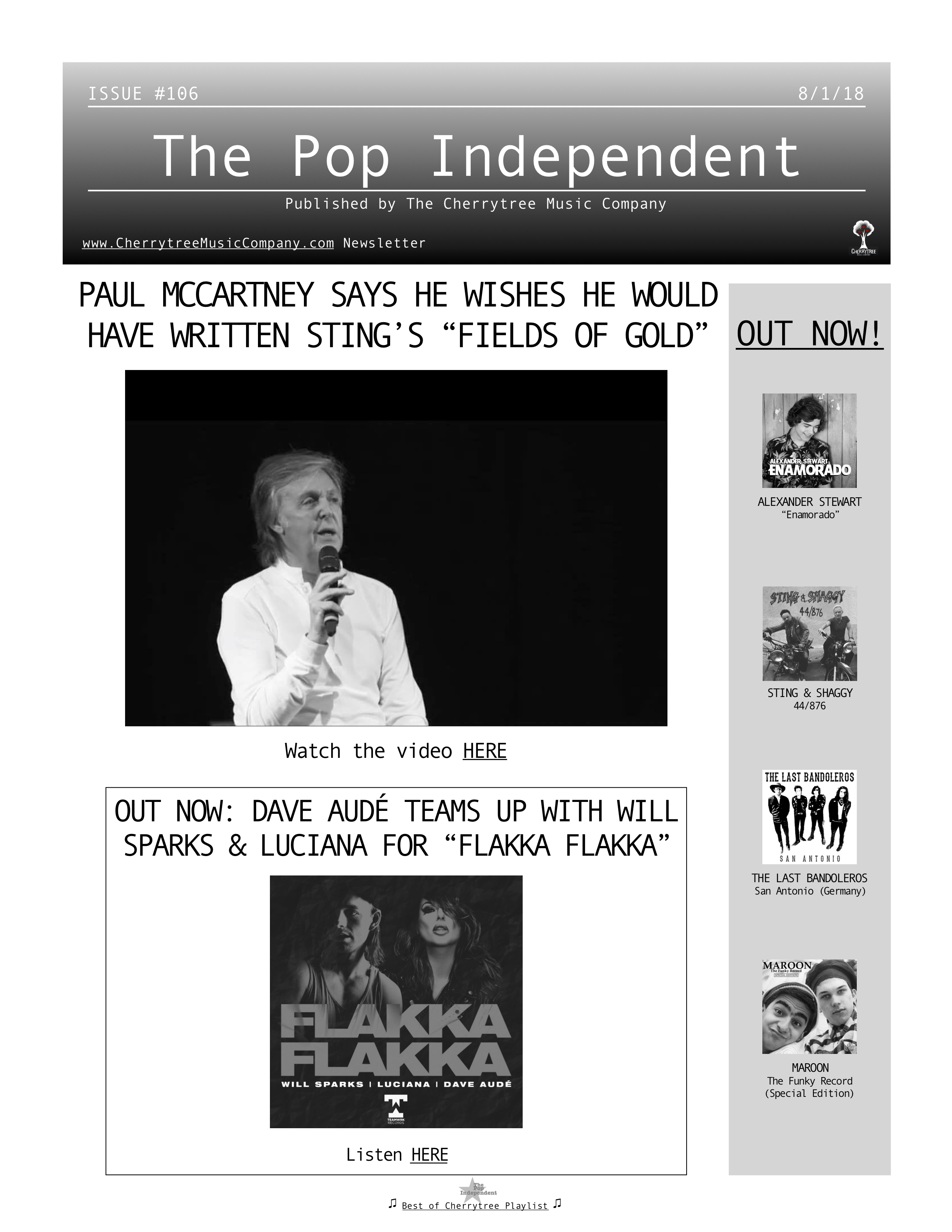 The Pop Independent, issue 106