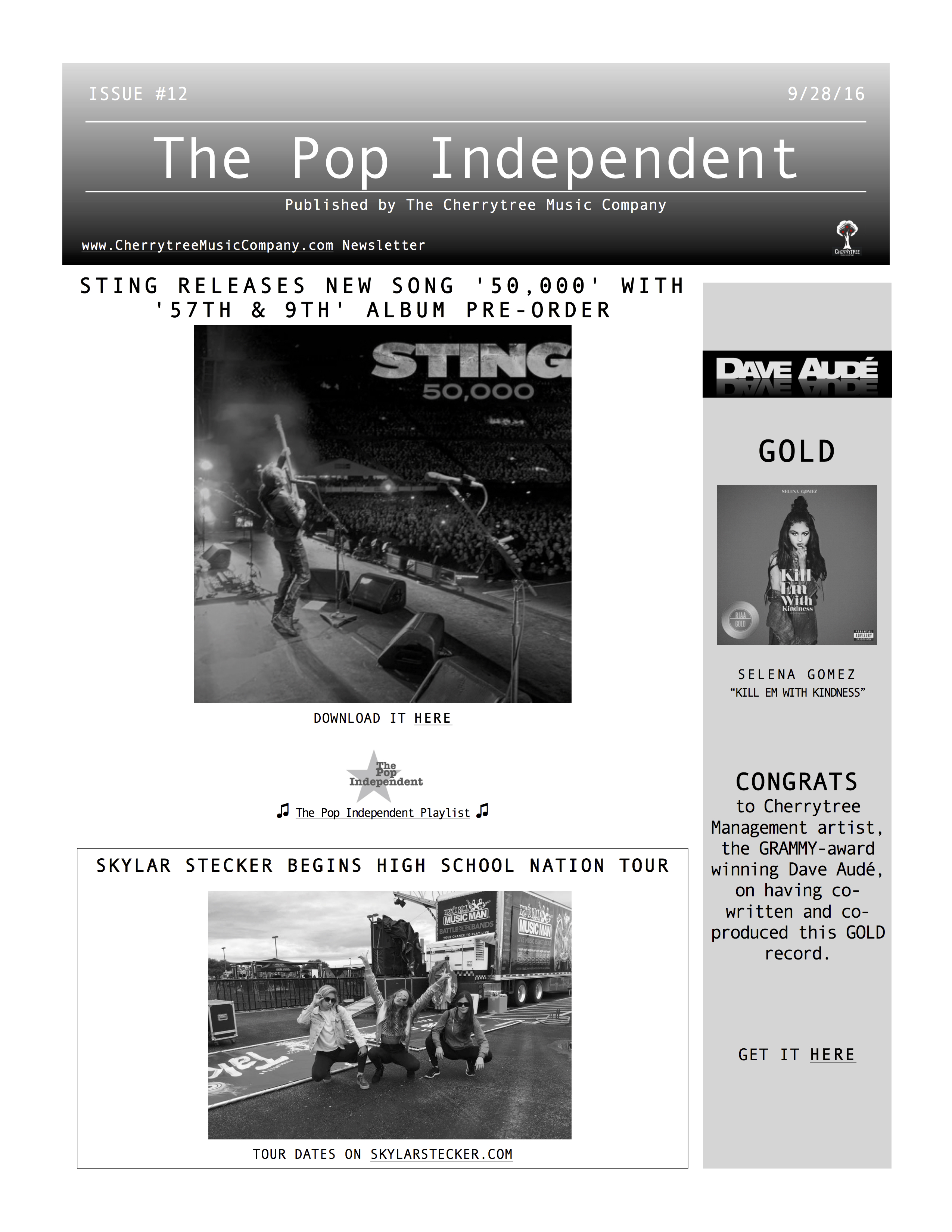The Pop Independent, issue 12
