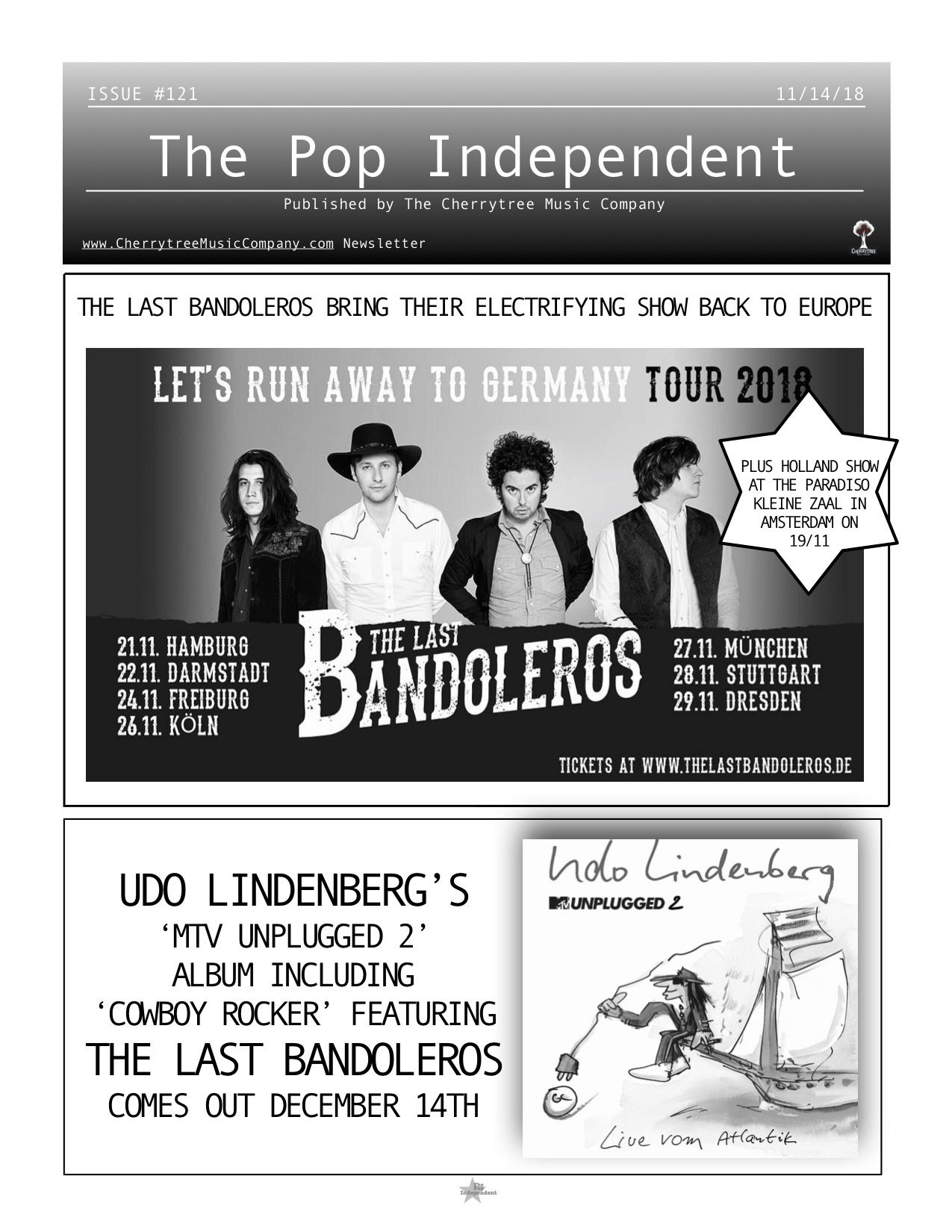 The Pop Independent, issue 121