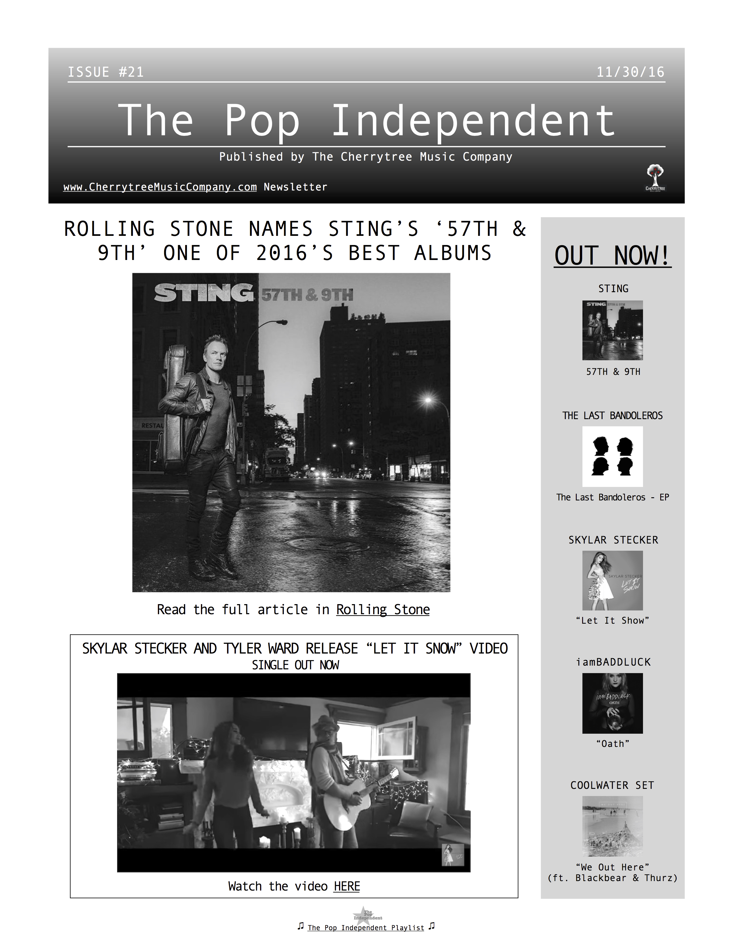 The Pop Independent, issue 21