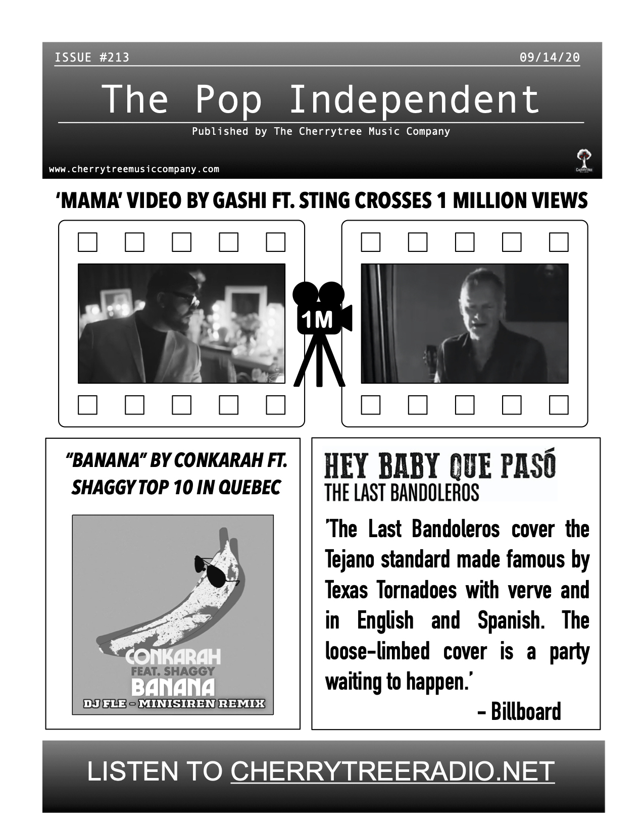 The Pop Independent, Issue 213