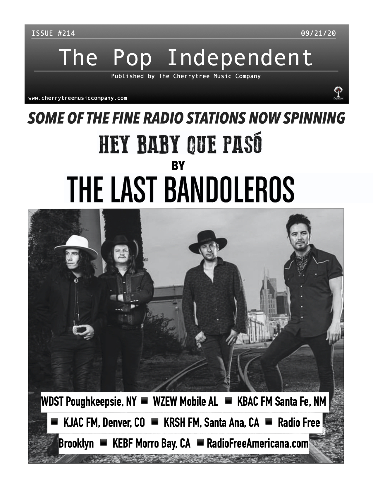 The Pop Independent, Issue 214