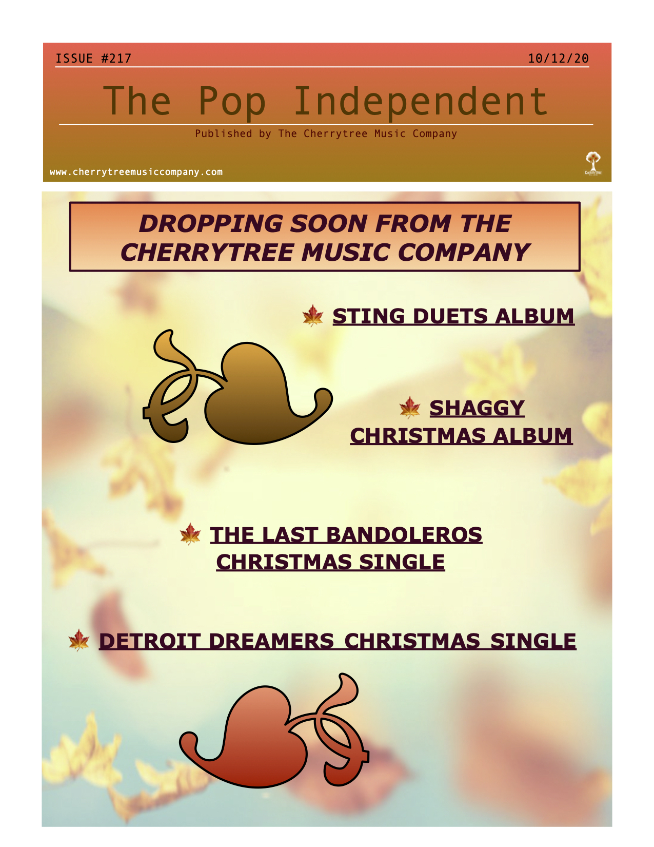 The Pop Independent, Issue 217