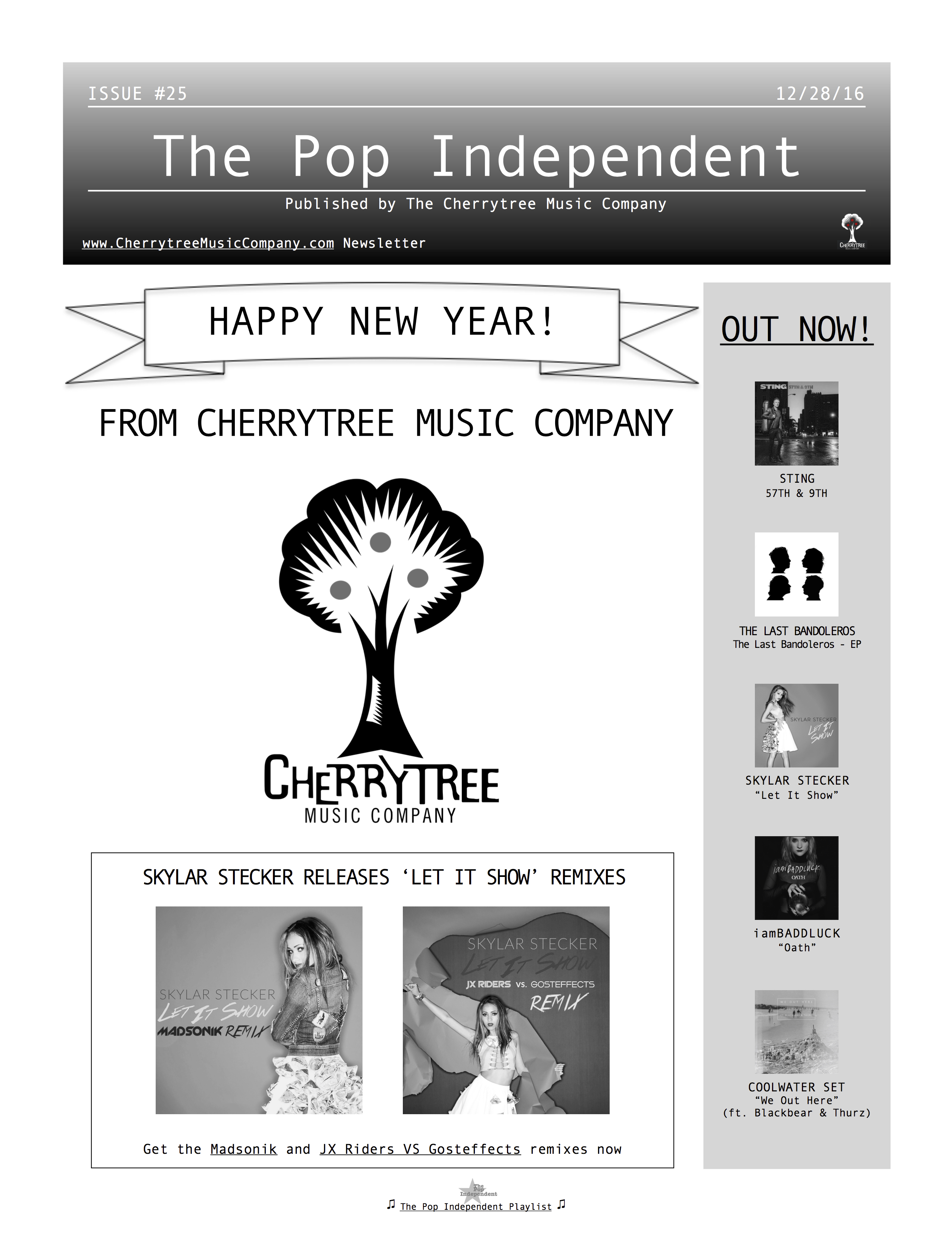The Pop Independent, issue 25