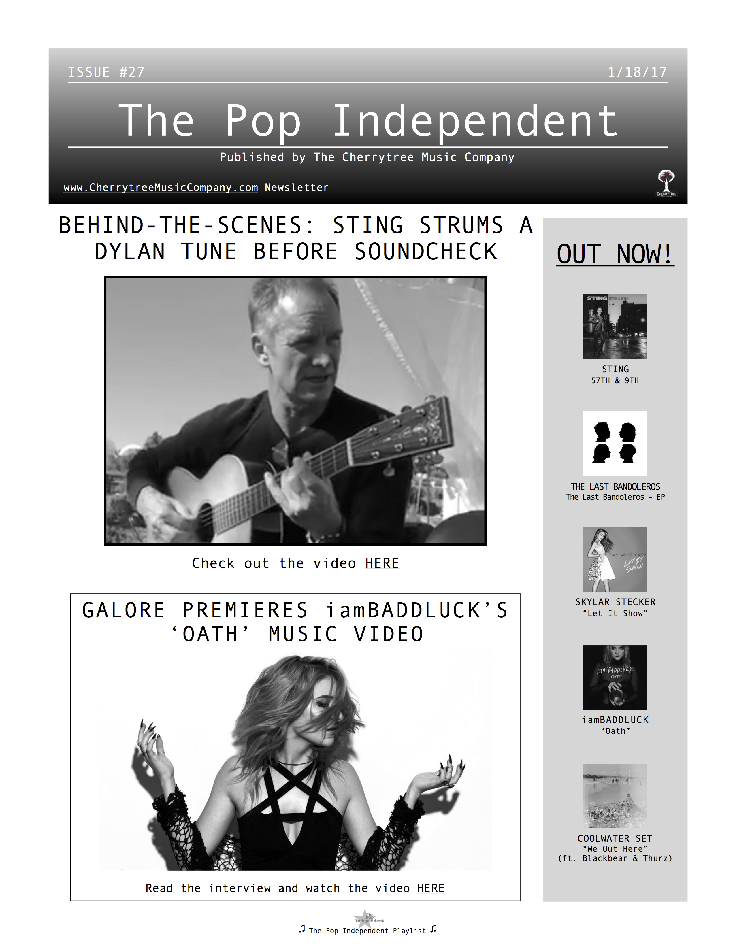 The Pop Independent, issue 27