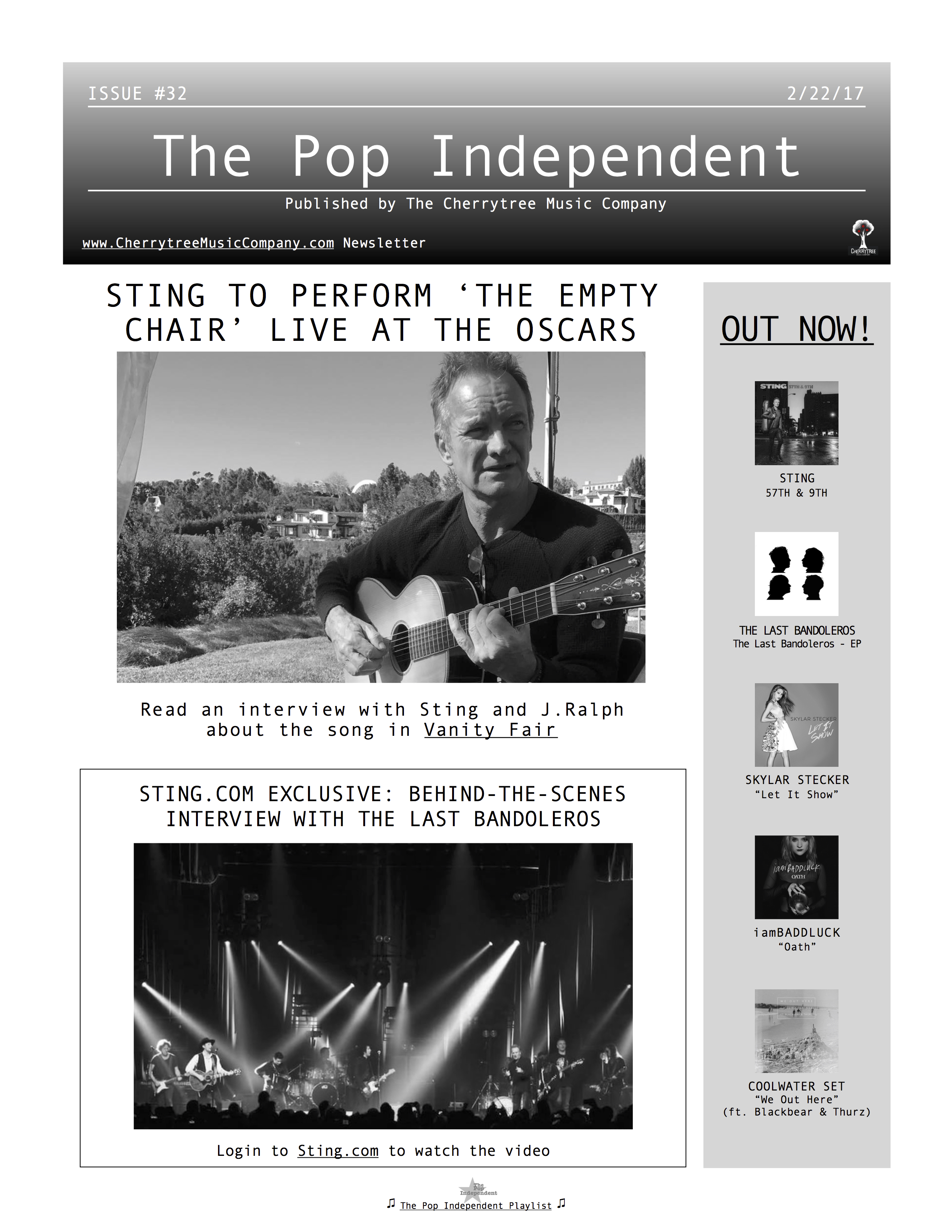 The Pop Independent, issue 32