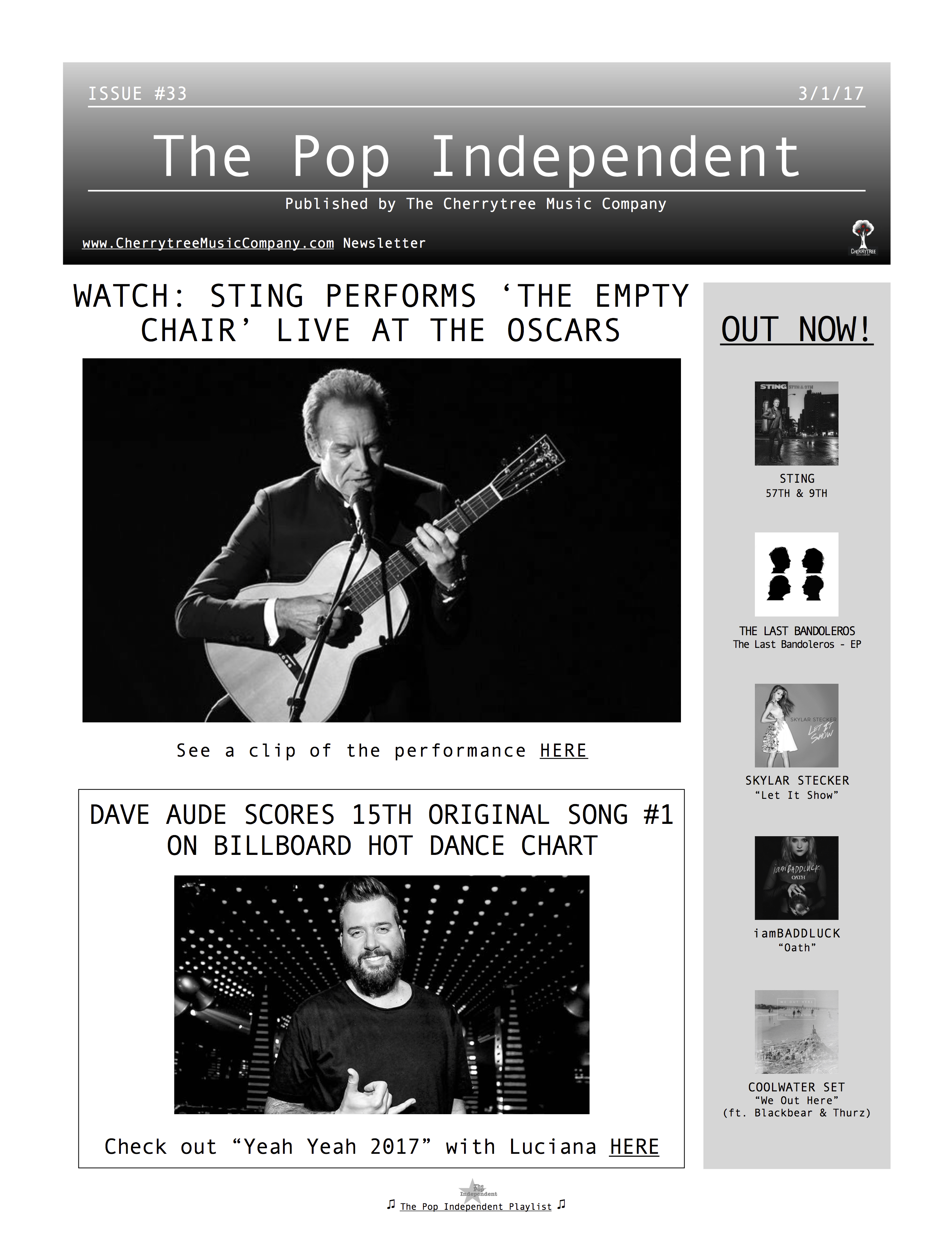 The Pop Independent, issue 33