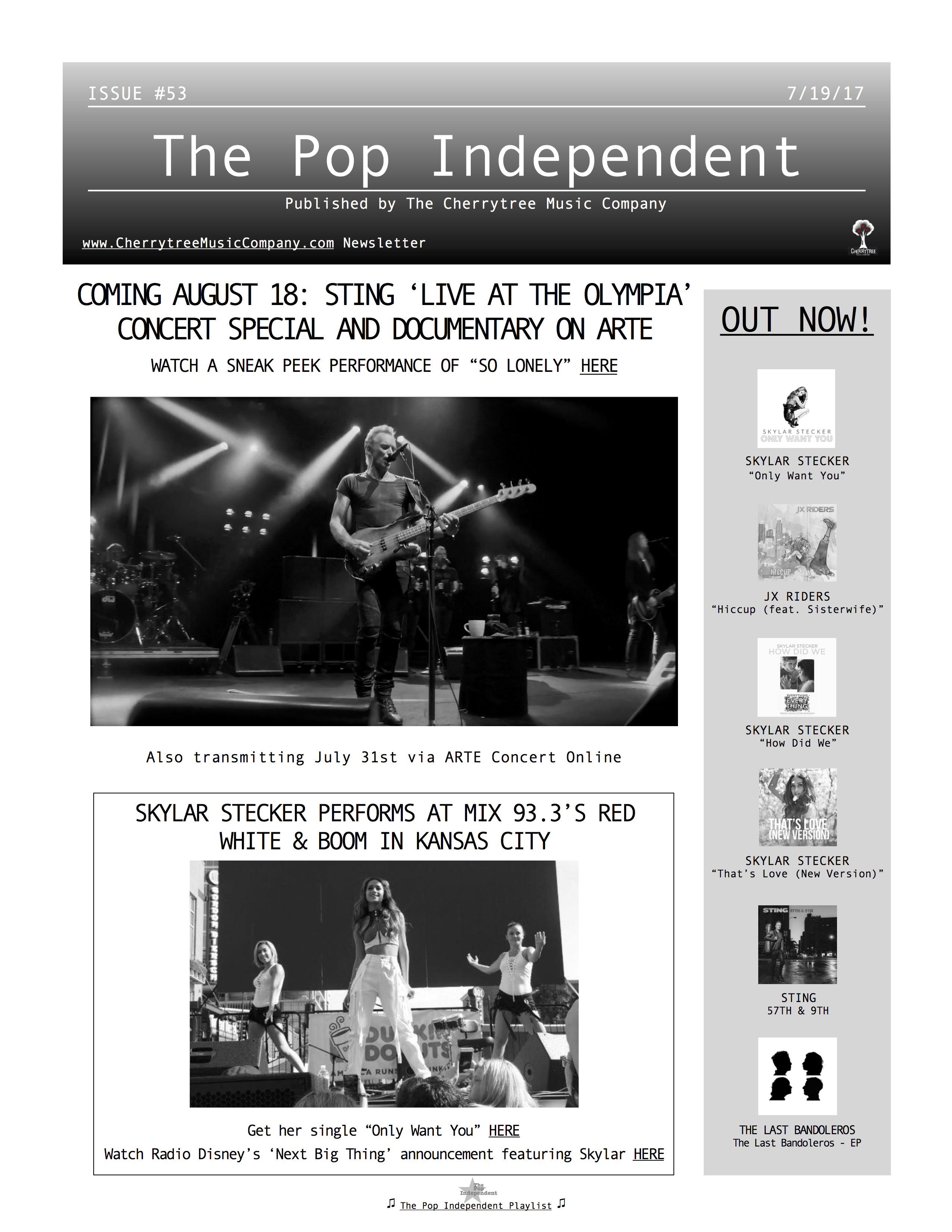 The Pop Independent, issue 53