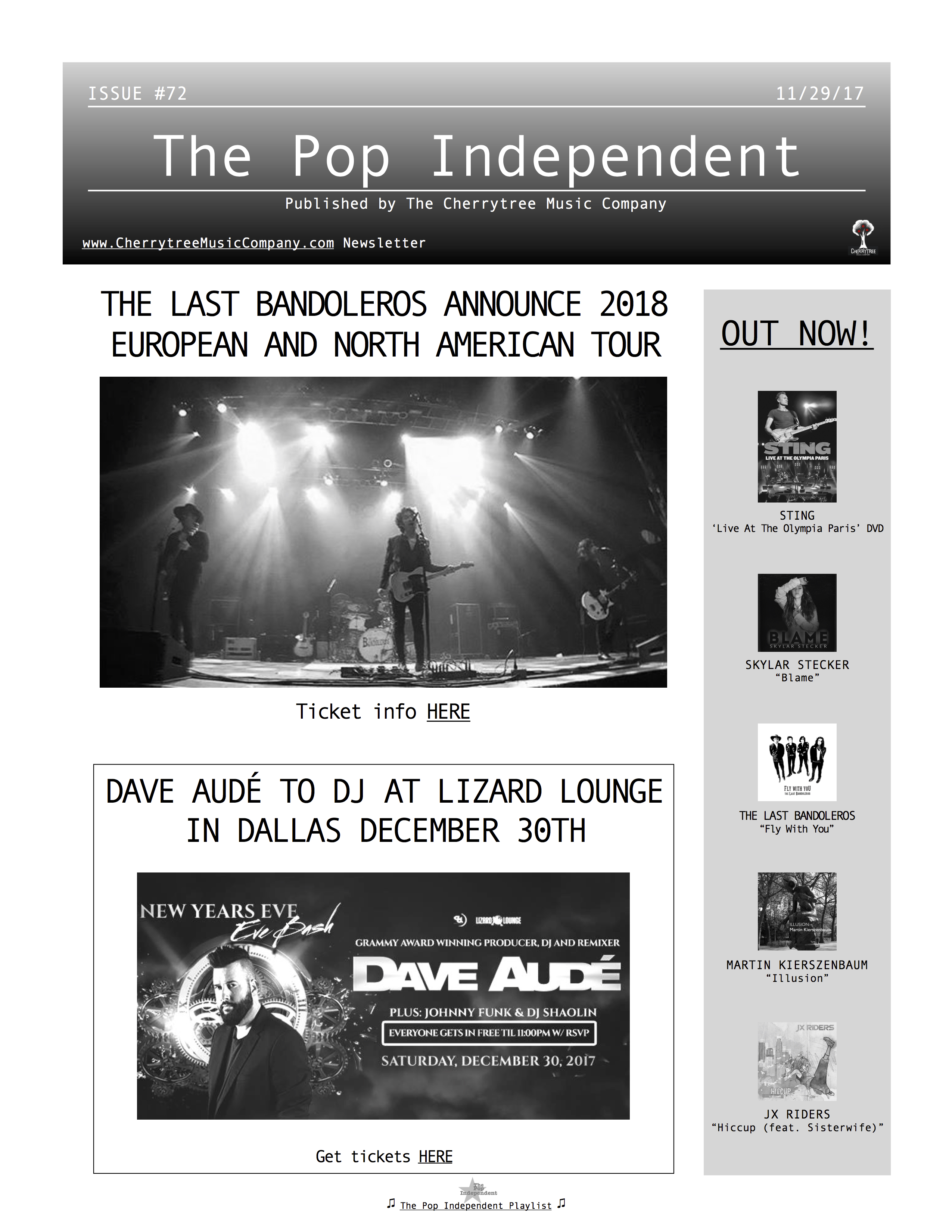 The Pop Independent, issue 72