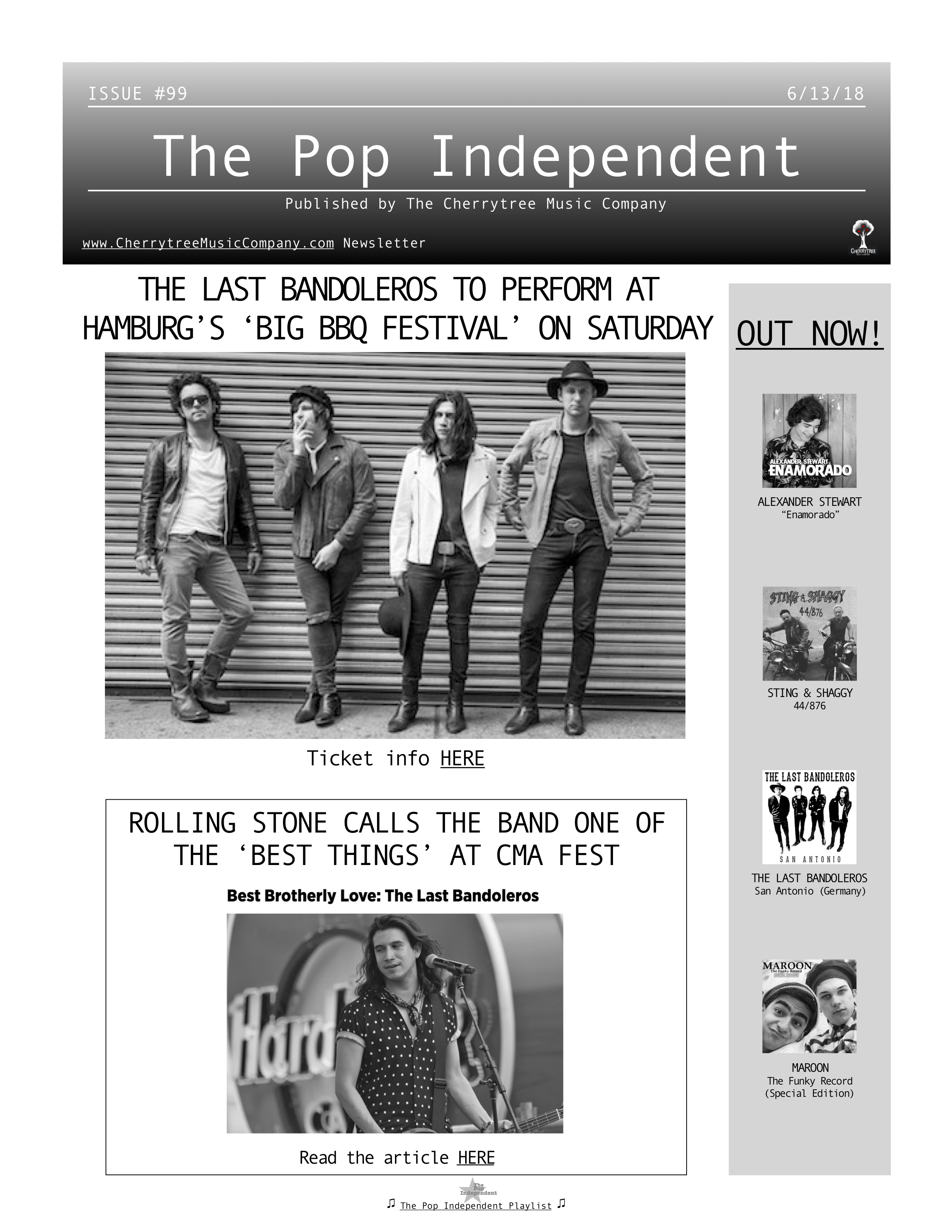 The Pop Independent, issue 99